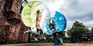 Bubble voetbal Wassenaar