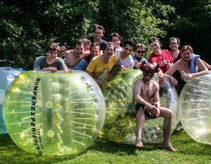 Bubble voetbal Amsterdam