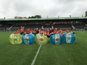 Bubble voetbal Rotterdam