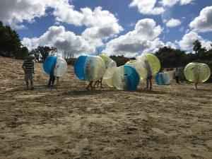 Bubble voetbal Katwijk