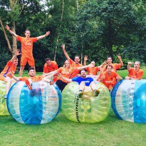 Bubble voetbal Utrecht